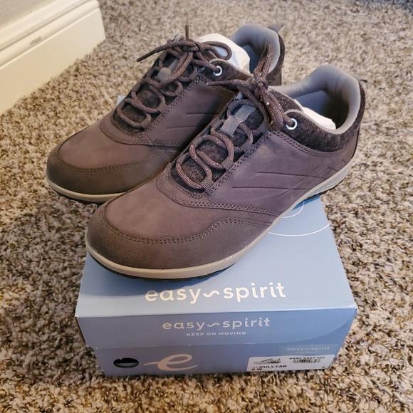 Easy Spirit Gray Pulltab Sneakers